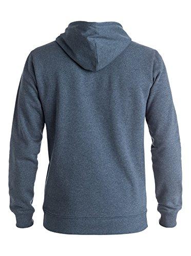 Quiksilver Herren Fleece Top Big Logo Hood M Otlr Kapuzenpullover Blau (navy Blazer Heather Byjh)