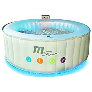 MSPA Latest Glow Indoor/Outdoor Round Luxury Inflatable