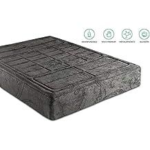 KAMA HAUS | Colchón Bali 150x200 | 7,5 cm Reales de viscoelástica | Funda