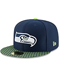 New Era Herren Caps / Fitted Cap NFL On Field Seattle Seahawks 59Fifty