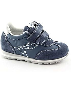 Nero Giardini Black Gardens Junior 23820 22/24 Blaue Babyschuh-Turnschuh Tücken