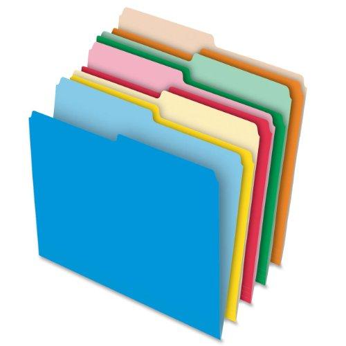 Pendaflex Stretch Tab Datei Ordner, Brief Größe, 100Pro Box, verschiedene Farben (54461ee) (Pendaflex Brief)