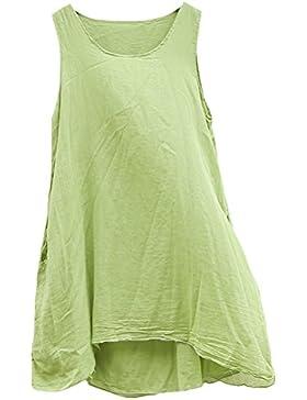 MatchLife - Camiseta - Cuello redondo - para mujer