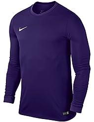 Nike Maillot Striker IV L S Jaune Noir Junior