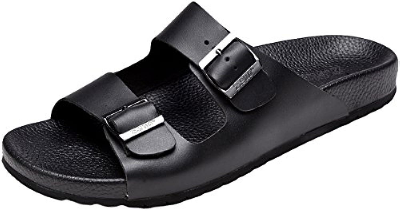 Insun Insun Insun Adulte Mules Chaussures Cuir de Vachette  s Avec Boucle RéglableB07BTY2HKZParent | Outlet  b63093