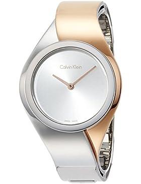 Calvin Klein Damen Armbanduhr Digital Quarz Edelstahl K5N2S1Z6