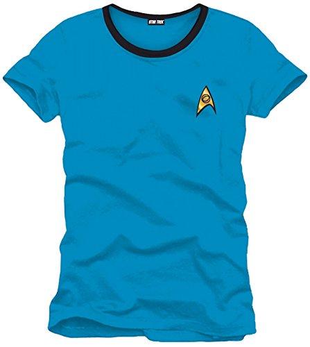 Revolution Ringer T-shirt (Spock Star Trek Herren Ringer T Shirt Blau)