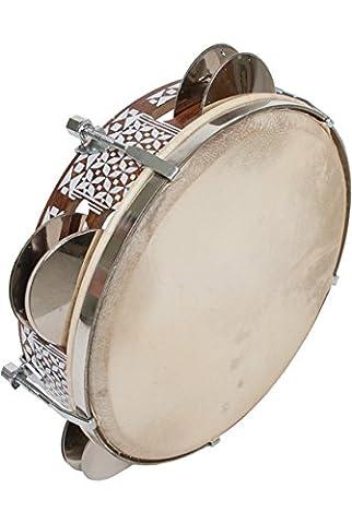 Mid-East Tambourine, 8.5-Inch, Tunable