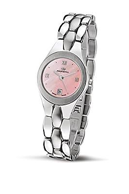 Philip Watch Tradition R8253500675 - Reloj de mujer de cuarzo, correa de acero inoxidable color plata de Philip Watch