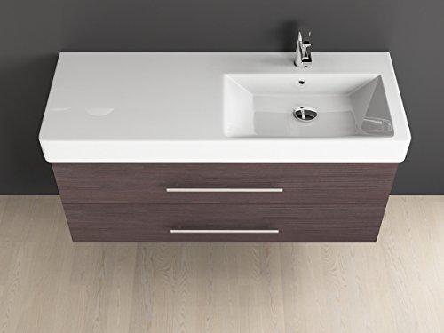 Mobile bagno cm con lavabo in ceramica aqua bagno piazza