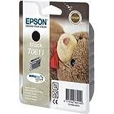 Epson T0613 Teddybär Wisch Und Wasserfeste Tinte Singlepack Magenta Bürobedarf Schreibwaren