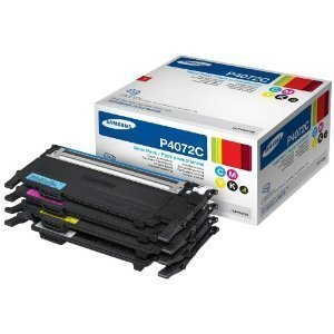 Top Genuine Toner Cartridge Set Samsung Rainbow CLP-320 CLP-325 CLP-325W CLX-3185 CLT-P4072 Models (Cyan, Magenta, Yellow and Black) Black High Yield 1,500 pages – Colour High Yield 1,000 pages 4-Pack Black Cyan Magenta Yellow OEM Samsung Items Special