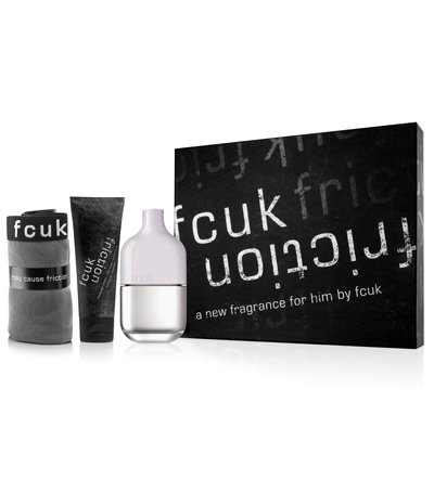 FCUK Friction Him Confezione Regalo 100ml EDT + 100ml Massage Cream + Friction Underwear