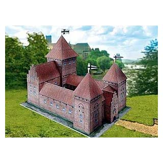 Aue-Verlag 20 x 13 x 19 cm Field Castle Model Kit (Red)