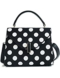 OUFENLANDI New Dot Handbag Doctor Woman Clutch Bag Large Capacity Shoulder Bag Crossbody Bags Vintage Stylish... - B07GRPH1QX