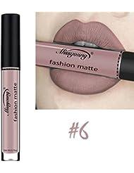 Rouge à Lèvres Matte,OverDose Lip Tint Encre à Lèvres Le Métallique Gloss à Lèvres Waterproof Lipstick
