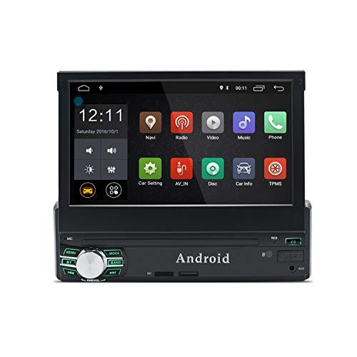 KXT1 1 Din Android 8.0 Car Stereo Pantalla Táctil