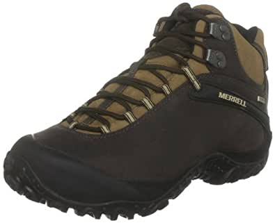 Merrell Cham 4 Mid Waterproof, Men's Lace-Up Shoes - Espresso, 12 UK