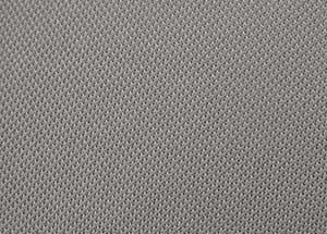 Tessuto cielo per auto grigio tipo Audi/VW - vendita a ½ (MEZZO) metro - accoppiato con gomma spu