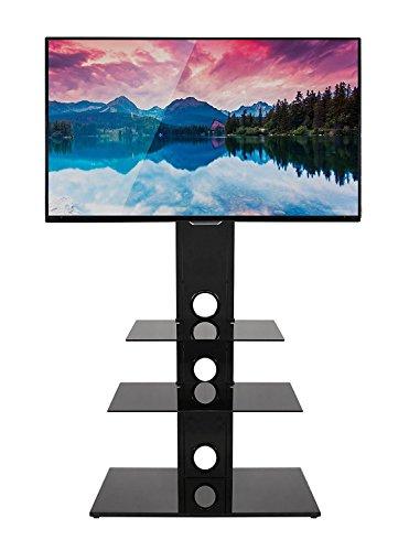 Mountright MK002Freitragender TV-Ständer mit Drehgelenk, Halterung für Bildschirme zwischen 69-140 cm (27bis 55 Zoll) (Swivel-mount-plasma-tv-ständer)