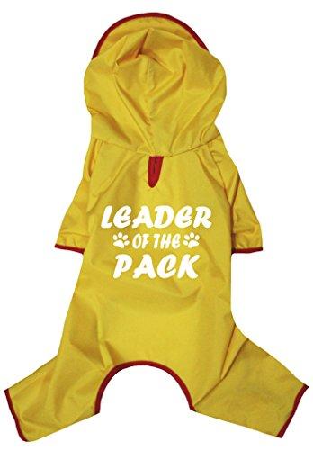 petitebelle Puppy Kleidung Hund Kleid Leader der Pack Neuheit Regenmantel