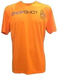 Camiseta Padel Drop Shot Hombre -Naranja-M