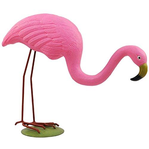 Velda Dekofigur Flamingo Gebückt Rosa 850521