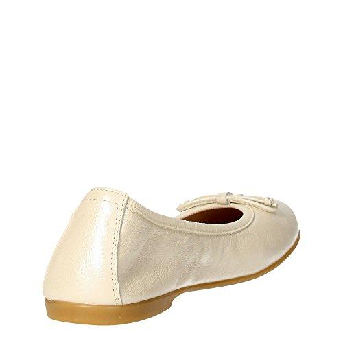 Florens Z7014 Ballerinaschuhe Mädchen _ Cremeweiß