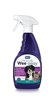 RSPCA Wee-Away Pet Friendly Les Taches et odeurs, 500ML, Clair