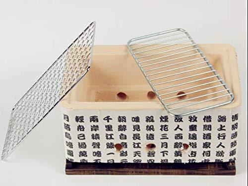 Ians Emporium Hogoshi Japanischer Yakatoi Tragbarer Koch-Ofen Tischplatte Mini BBQ Holzkohlegrills - HIGOSHI Grills -