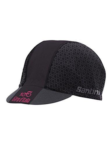 Santini RE460Cotblack - Gorra para hombre, multicolor, talla única