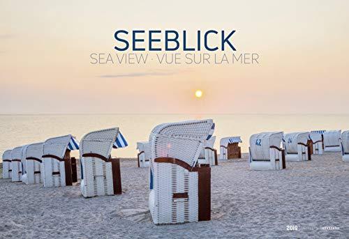 Seeblick 2019 - Nordsee / Ostsee - Bildkalender quer (50 x 34) - Landschaftskalender - Naturkalender