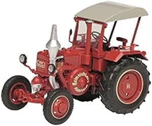 Schuco 450769600 Lanz Ackerluft Die Cast Maßstab 1 32 Wein Rot Spielzeug