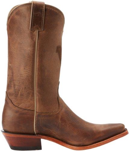 Nocona West Virginia Brown Cowhide Branded Femmes Cuir Santiags brown