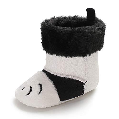 cd4897e6435ec Chaussures Bébé Binggong Infant Nouveau-né Garçons Filles Bande Dessinée  Berceau d hiver Bottes