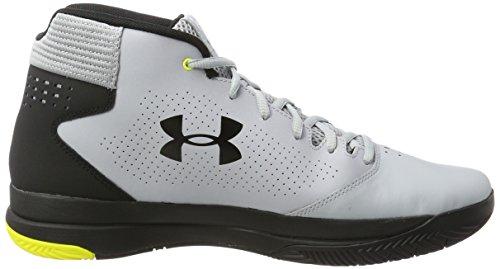 Under Armour Ua Jet 2017 Chaussures de Basketball Homme Gris (Overcast Gray)