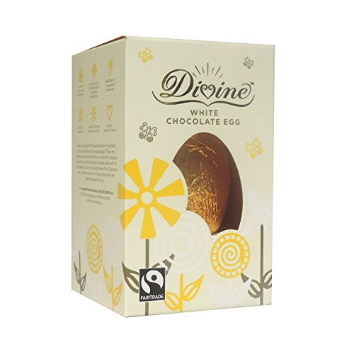 Divine Chocolate - White Chocolate Egg - 55g