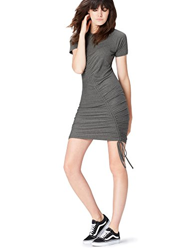 find. Robe Femme, Gris (Grau), 36 (Taille Fabricant: X-Small)