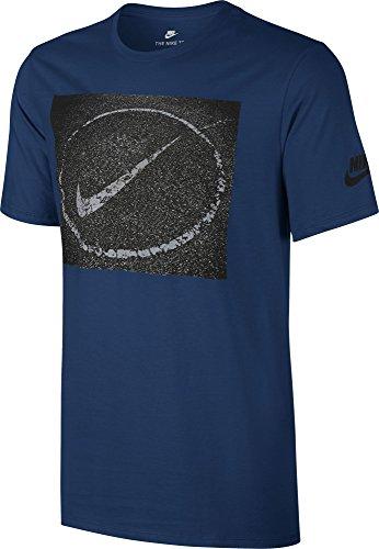Nike M Nsw Tee Asphalt Photo T-shirt für Herren azul (binary blue)