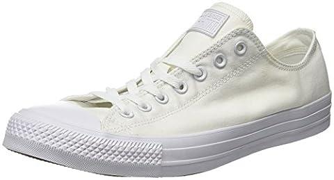 Converse Chuck Taylor All Star, Unisex - Erwachsene Sneaker, Weiß (Monocrom), 39 EU