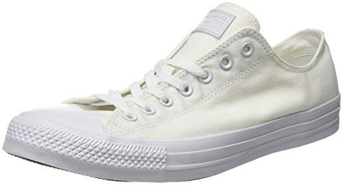 Converse chuck taylor all star, sneakers unisex - adulto, bianco, 39 eu