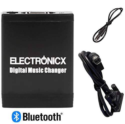 Electronicx YTM06-AINET-BT Bluetooth Freisprecheinrichtung Digitaler Musik Wechsler DMC USB MP3 AUX SD CD-Wechsler Originalradio
