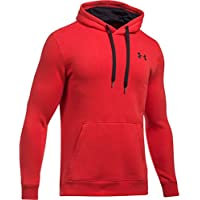 Under Armour Rival Fitted Pull Over Sudadera, Hombre, Rojo (600), L