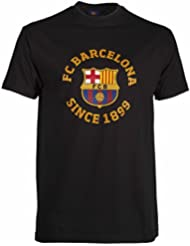 T-shirt Barça - Collection officielle FC BARCELONE - Taille adulte homme