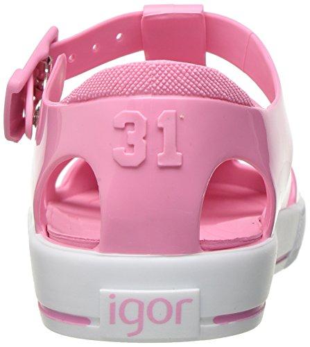 Igor Tenis Solido, courroie de cheville mixte enfant Rose (Pink)