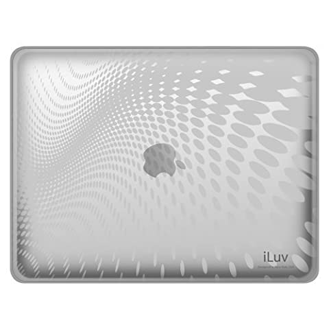 iLuv iCC802 Coque ultra fine décor Vague pour iPad Transparent