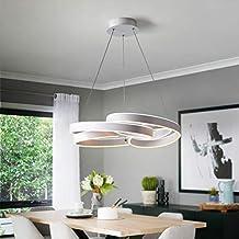 Lampadari LED Moderni Creative Ciondolo Luci Cucina Acrilico + Sospensione  in Metallo Sospeso Lampada da Soffitto
