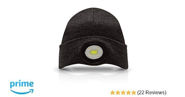 Unilite BE-02+ Prosafe USB Rechargeable Beanie Headlight  Amazon.co.uk  DIY    Tools 6933548ed21d