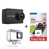 Yi Lite Aksiyon Kamerası + Sandisk 32 GB 80 Mb/s Hafıza Kartı Set
