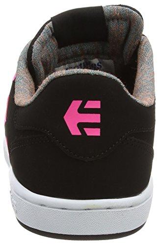 Etnies - FADER LS W'S, Scarpe da skateboard Donna Nero (Black (Black 001))